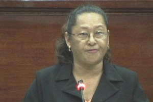 Former Minister of Amerindian Affairs, Pauline Sukhai