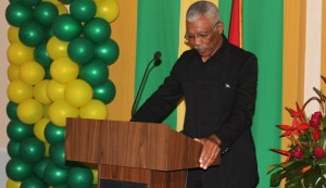Presidential Candidate of the APNU+AFC, David Granger