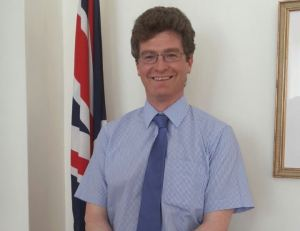 British High Commissioner, James Gregory Quinn. [iNews' Photo]