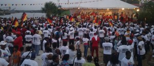 The PPP Linden rally.