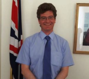 United Kingdom High Commissioner to Guyana, James Gregory Quinn
