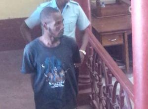 Accused, Aldren  Adonis (iNews' photo)
