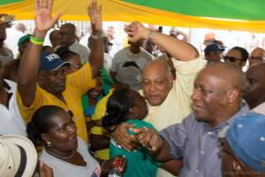 APNU+AFC members and supporters have already began to celebrate