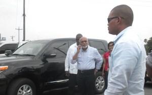 Incumbent President, Donald Ramotar. [iNews' Photo]