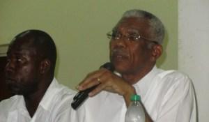 Presidential Candidate of the APNU+AFC Coalition Brigadier David Granger. [iNews' Photo]