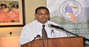 Director of the Guyana Tourism Authority (GTA) Indranauth Haralsingh