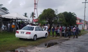 A polling station in South Ruimveldt. [iNews' Photo]