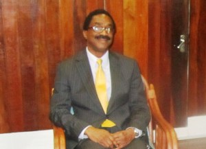 Legal Affairs Minister and Attorney General, Basil Williams. [iNews' Photo]
