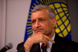 Commonwealth Secretary-General Kamalesh Sharma