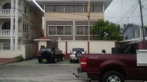 The Venezuelan Embassy in Georgetown. [iNews' Photo]
