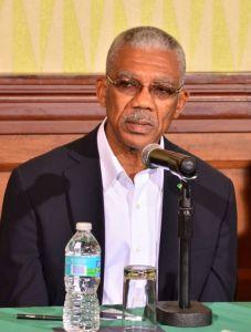 President of Guyana, David Granger