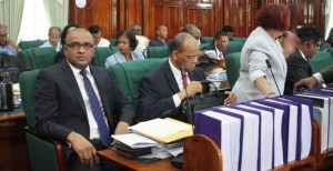 Opposition Leader, Bharrat Jagdeo and other PPP MPs