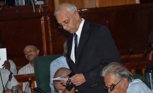 Minister of Communities, Ronald Bulkan. [iNews' Photo]