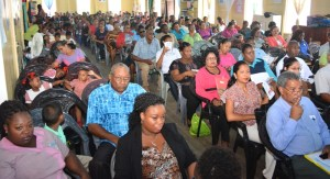 A section of the gathering at the launch.