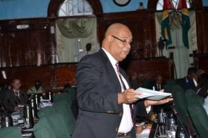 PPP Parliamentarian. Juan Edghill. [iNews' Photo]