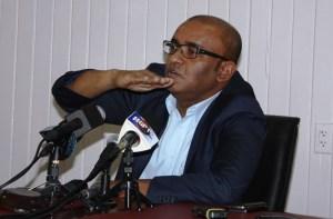 Opposition Leader, Bharrat Jagdeo.