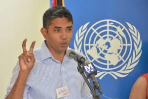 President of the Guyana Press Association (GPA), Neil Marks