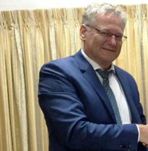 Ambassador of the European Union to Guyana, Jernej Videtič