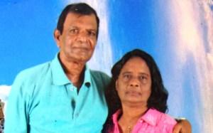 File Photo of Daljit Balraj and his wife, Bidiawatee Balraj