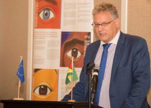 Ambassador of the European Union in Guyana, Jernej Videtič
