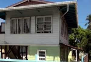 The house where the robbery occurred. [iNews' Photo[