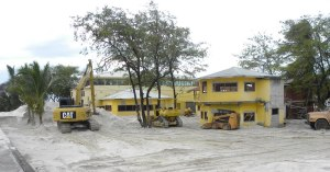 Construction ongoing at the Celina Resort.