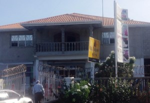 The supermarket where the robbery occurred. [iNews' Photo]