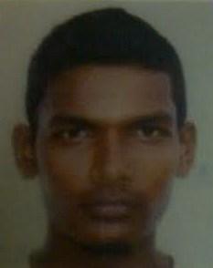 Murder suspect; Vishnu Narine
