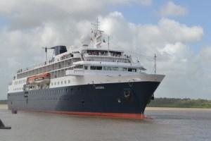 The cruise ship Minerva