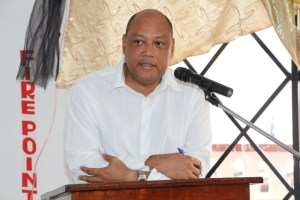 Minister of Governance, with responsibility for the Natural Resources and the Environment, Raphael Trotman