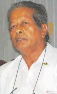 GAWU President, Komal Chand