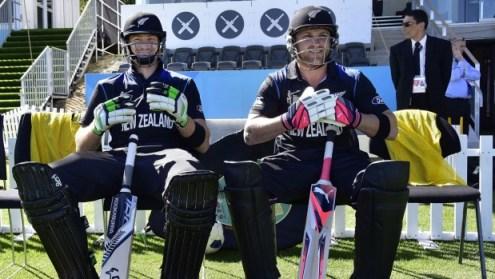 Black Caps duo Martin Guptill and Brendon McCullum will feature in the Caribbean Premier League player draft next month (AP photo)