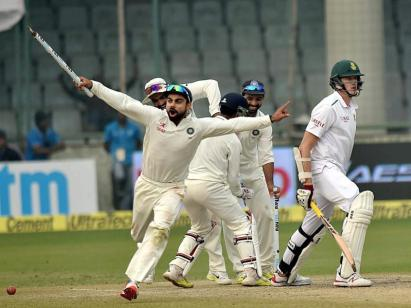India moved to second on the rankings in December when they mauled South Africa 3-0 on home soil. It was the first time South Africa had been beaten away from home in nine years (PTI photo)