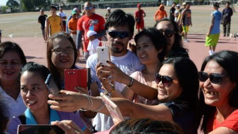 Mr Pacquiao, who is extremely popular, says he wants to be President