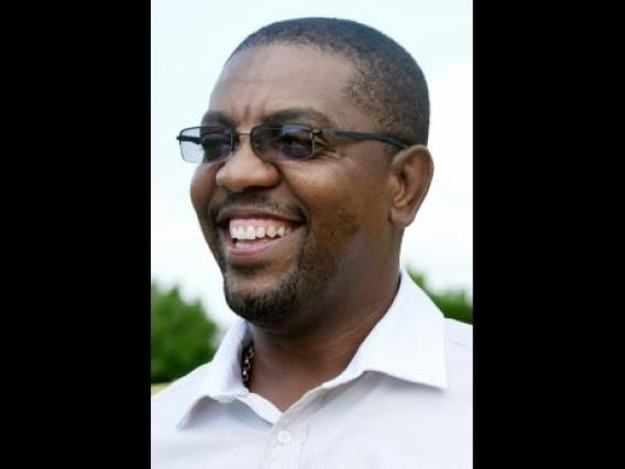 x West Indies Cricket Board President Dave Cameron