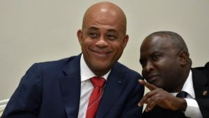 Mr Martelly and Chamber of Deputies Speaker Cholzer Chancy worked on the last minute deal