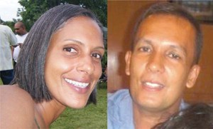 Land Court Judge, Nicola Pierre and her husband, Mohamed Chand