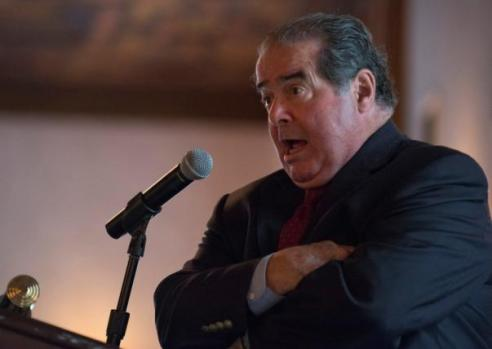 U.S. Supreme Court Justice Antonin Scalia speaks at an event sponsored by the Federalist Society at the New York Athletic Club in New York October 13, 2014. REUTERS/Darren Ornitz . SAP is the sponsor of this content. It was independently created by Reuters' editorial staff and funded in part by SAP, which otherwise has no role in this coverage.