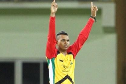 FLASHBACK: Sunil Naraine playing for the Guyana Amazon Warriors in the last CPL tournament