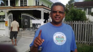 Parika resident, Melvin Singh explained that the voting process was a very simple one for him as this is his second time voting in Local Gov't Elections.