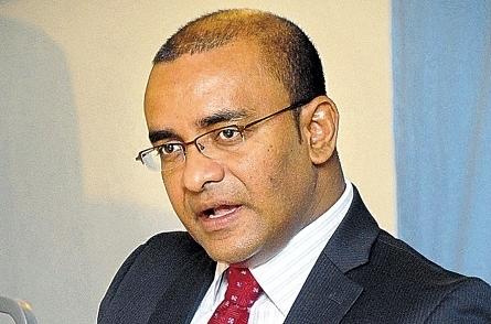 Opposition Leader, Bharrat Jagdeo
