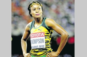 THOMPSON... World Championships silver medallist (Jamaica Observer photos)