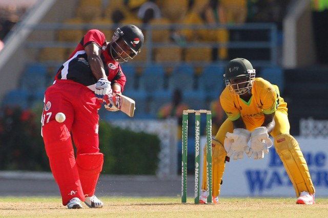 Evin Lewis got his first hundreds in all three formats of the game this season, and was called up to the World T20 squad © WICB Media/Ashley Allen