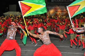 A scene from a previous Independence celebration in Guyana