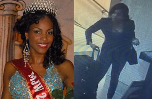 Marsha-Gay Reynolds was the second runner-up in the Miss Jamaica 2008 competition. (Photo credits Tyronne Payton/LAX surveillance)