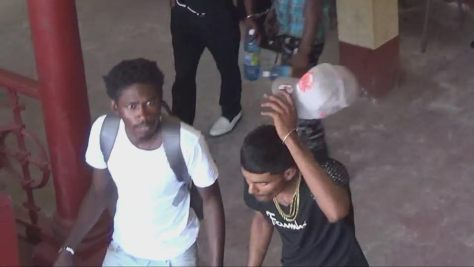 Jason Thomas, 22, of Berbice, pleaded not guilty to the charges, while Christopher Niles, 21, of Uitvlugt, West Coast Demerara