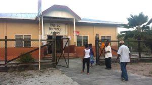 Voting at Wisroc, Linden