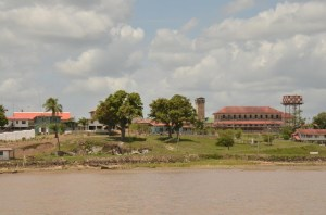 The Mazaruni Penal Settlement located on the right bank of the Mazaruni River