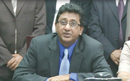 Former Attorney General and Legal Affairs Minister, Anil Nandlall