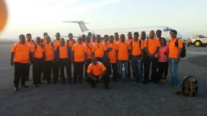 The Regal Team as they were about to depart Guyana for Florida.